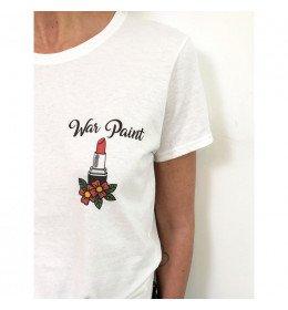 Woman T-shirt WAR PAINT