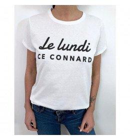 T-shirt Femme LE LUNDI CE CONNARD