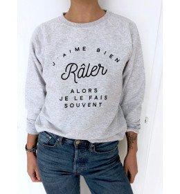 Woman Sweater J'AIME BIEN RÂLER ALORS JE LE FAIS SOUVENT