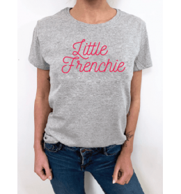 Woman T-shirt LITTLE FRENCHIE