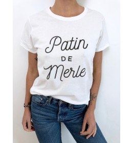 Woman T-shirt PATIN DE MERLE