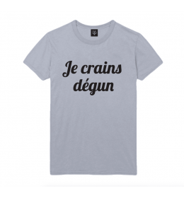 T-shirt Homme JE CRAINS DEGUN