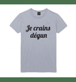T-shirt Homme JE CRAINS DEGUN