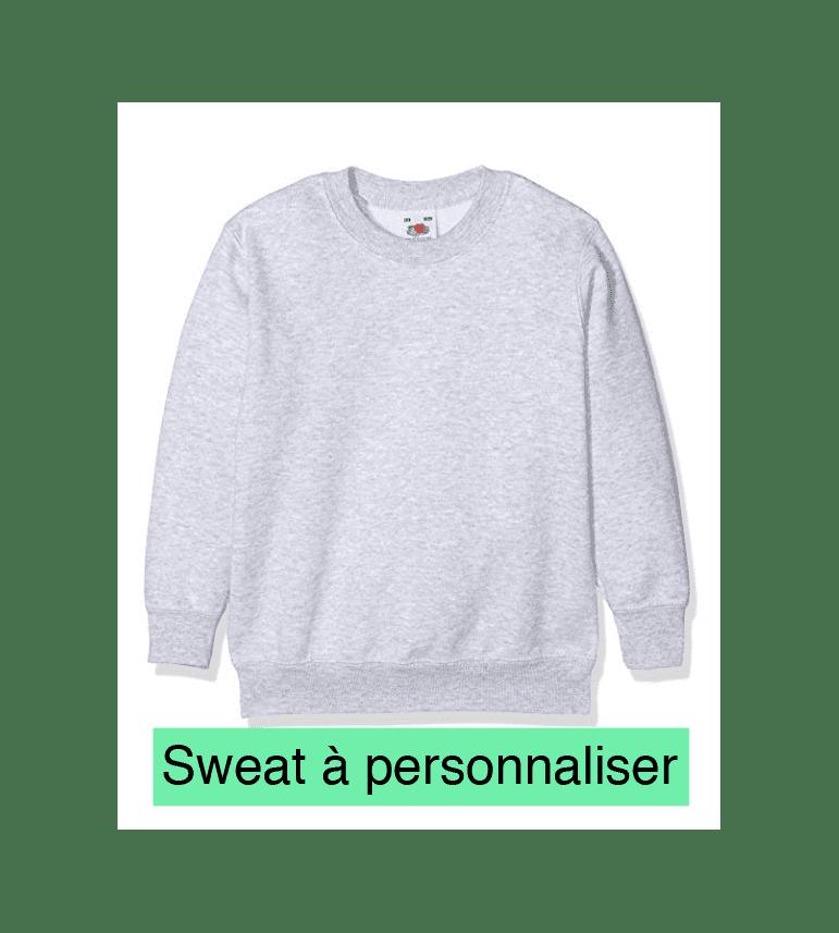 créé ton sweat enfant