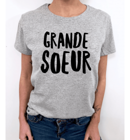 woman t-shirt GRANDE SOEUR