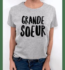 t-shirt femme GRANDE SOEUR