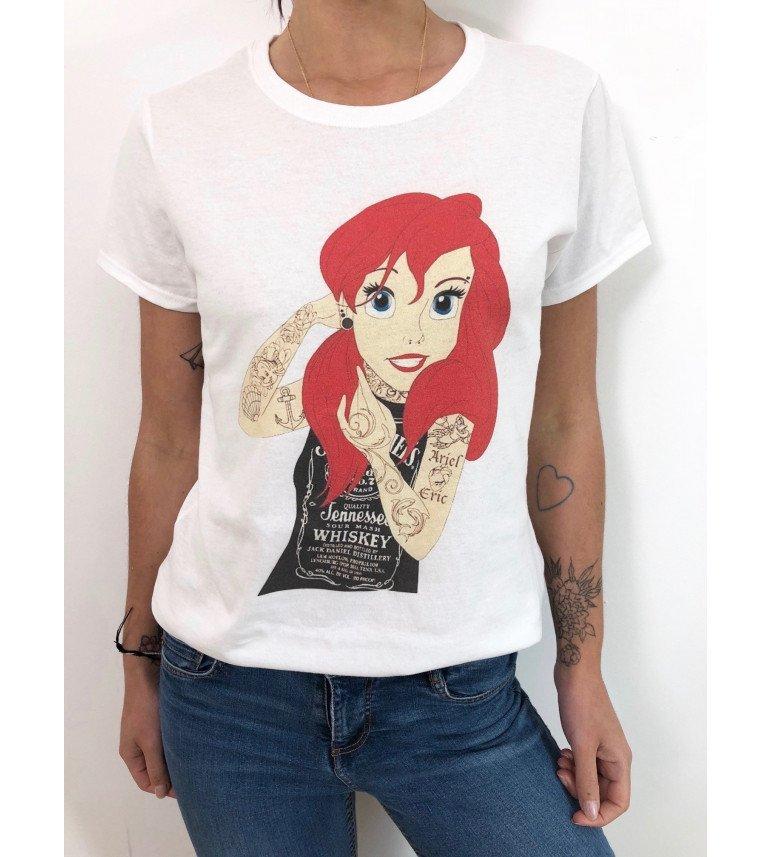 t-shirt femme ARIEL TATTOOS