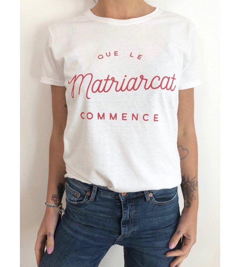 t-shirt femme NAIROBI QUE LE MATRIARCAT COMMENCE