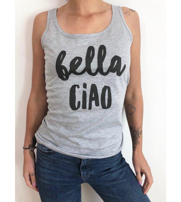débardeur femme BELLA CIAO