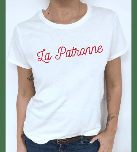 t-shirt femme LA PATRONNE