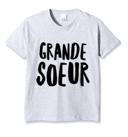 kid t-shirt GRANDE SOEUR