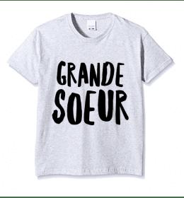 t-shirt enfant GRANDE SOEUR