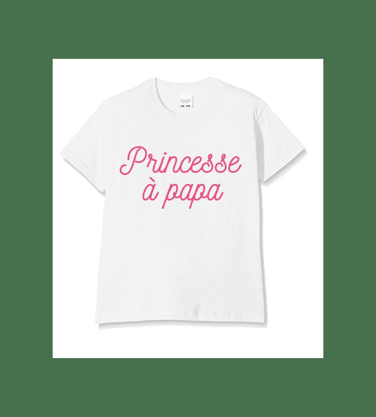T-shirt Enfant PRINCESSE A PAPA