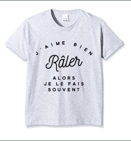 Kid T-shirt J'AIME BIEN RÂLER