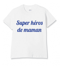Kid T-shirt SUPER HEROS DE MAMAN