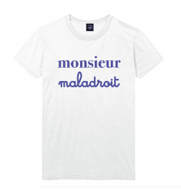 man t-shirt MONSIEUR MALADROIT
