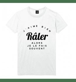 t-shirt homme J'AIME BIEN RÂLER ALORS JE LE FAIS SOUVENT
