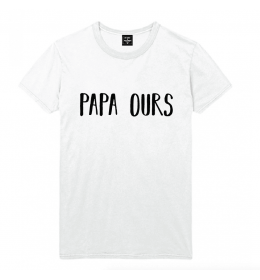 t-shirt homme PAPA OURS