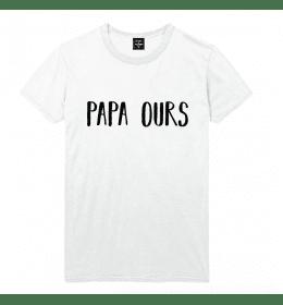 man t-shirt PAPA OURS