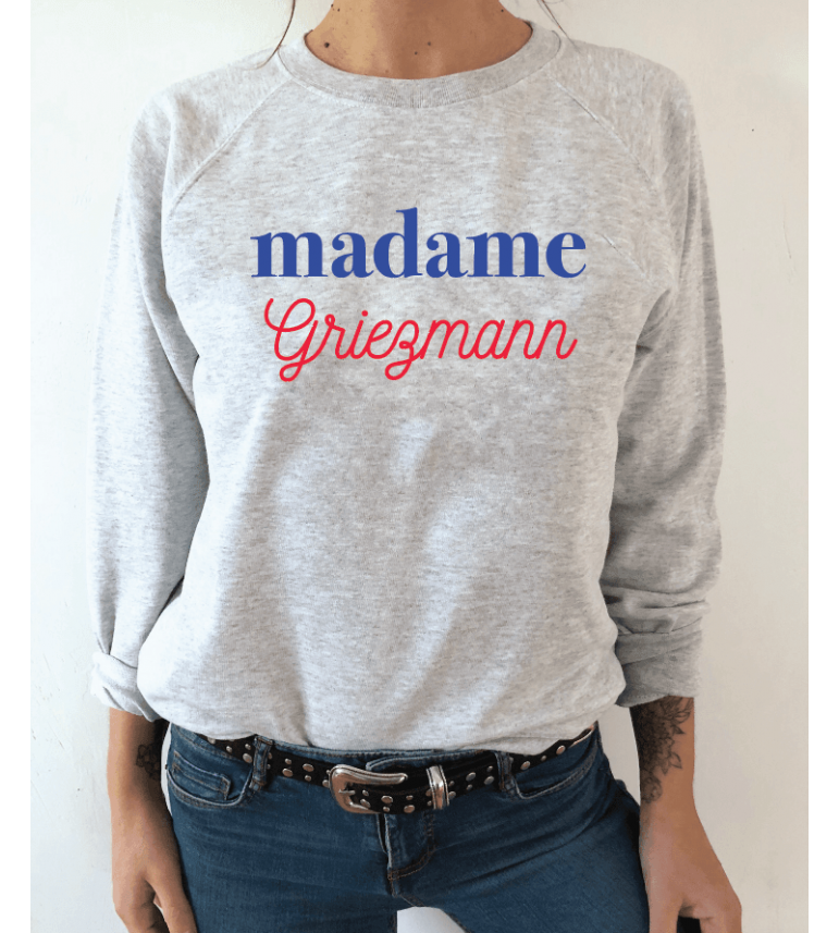 Sweat Femme MADAME GRIEZMANN