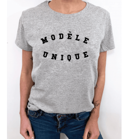 WOMAN T-SHIRT MODÈLE UNIQUE