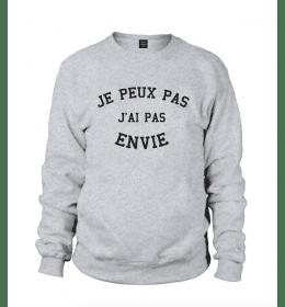 Man Sweater JE PEUX PAS J'AI PAS ENVIE
