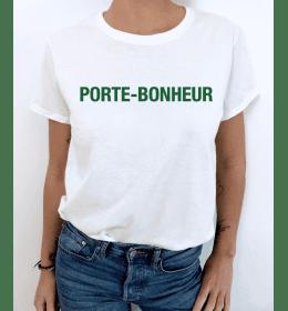 t-shirt femme PORTE-BONHEUR