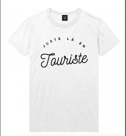 t-shirt homme JUSTE LA EN TOURISTE