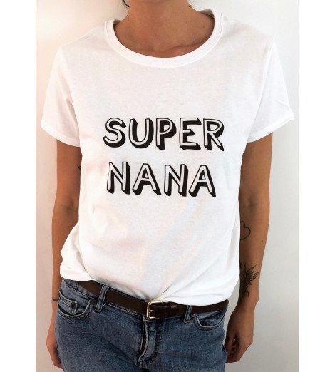 t-shirt femme SUPER NANA