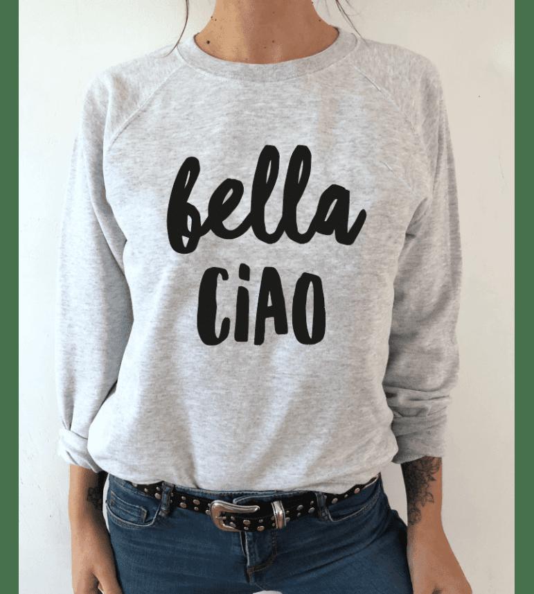 sweat femme BELLA CIAO
