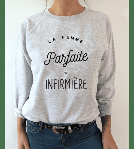 sweat à personnaliser LA FEMME PARFAITE