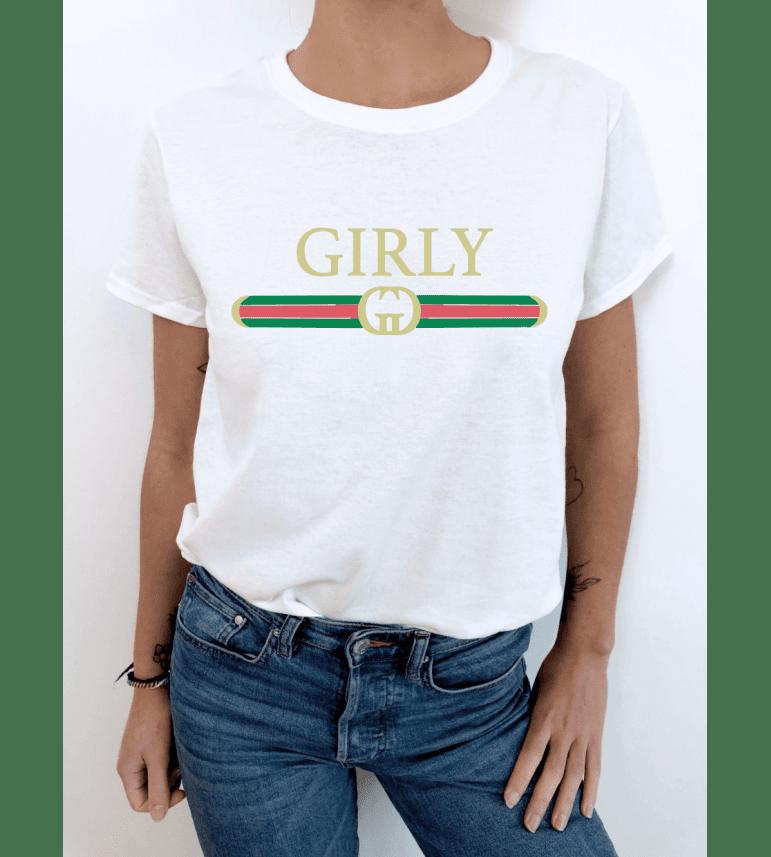 t-shirt femme GIRLY