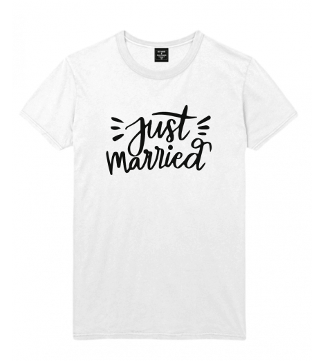 t-shirt homme  JUST MARRIED