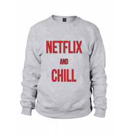 Sweat homme NETFLIX AND CHILL