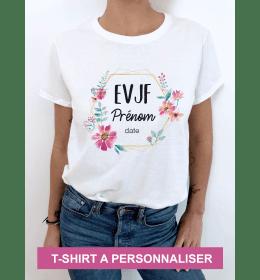 T-shirt femme EVJF À PERSONNALISER