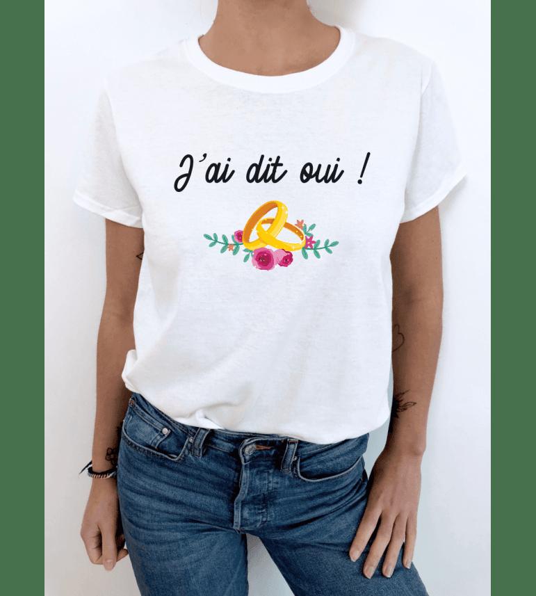 T-shirt femme J'AI DIT OUI !