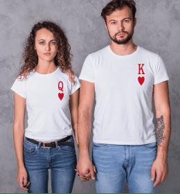 T-shirt femme REINE DE COEUR