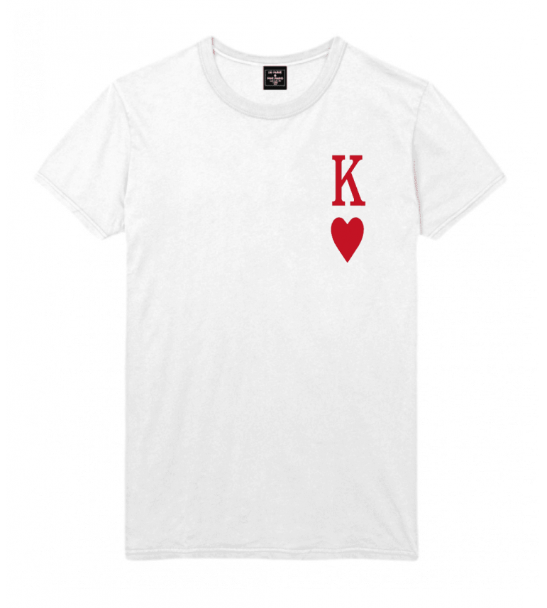 Homme T Shirt For Coeur Roi Paris De Luxe Life rxdBoeCW