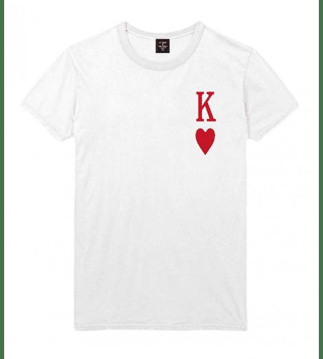 T-shirt homme ROI DE COEUR