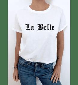 T-shirt femme LA BELLE