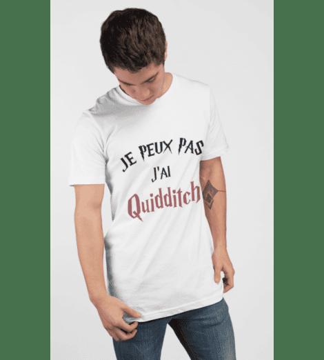 T-shirt homme JE PEUX PAS J'AI QUIDDITCH