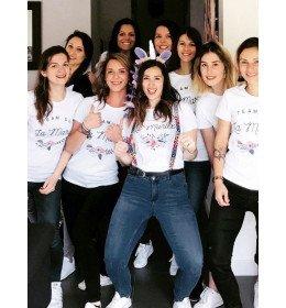 t-shirt femme TEAM DE LA MARIEE