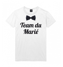 man t-shirt TEAM DU MARIE