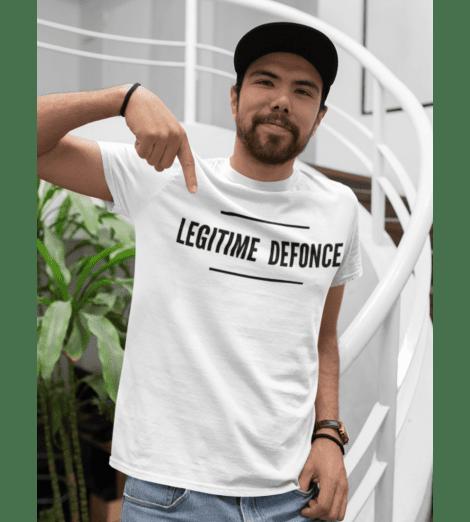 T-shirt homme LEGITIME DEFONCE