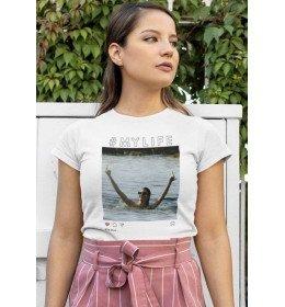T-shirt Femme KENDALL JENNER FUCK