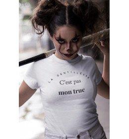 T-shirt Femme LA GENTILLESSE C'EST PAS MON TRUC
