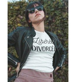 T-shirt Femme LIBÉRÉE DIVORCÉE
