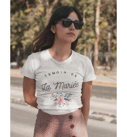 T-shirt Femme TÉMOIN DE LA MARIÉE