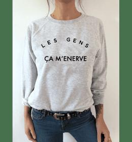 Sweat Femme LES GENS ÇA M'ÉNERVE
