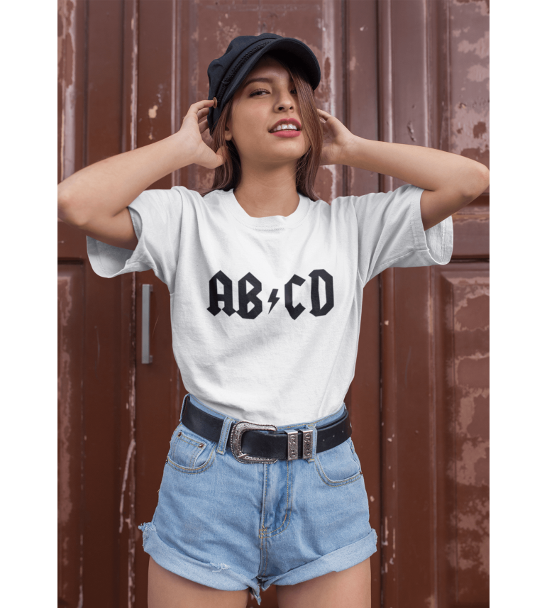 T-shirt Femme AB CD